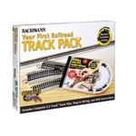 Bachmann 44596 HO Your First Railroad Track Pack E-Z Track For 4 x 8 Layout 160-44596