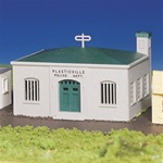 BAC45145 Bachmann Industries HO Police Station Kit 160-45145