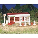 BAC45174 Bachmann Industries HO Gas Station Kit 160-45174