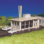 BAC45434 Bachmann Industries HO Drive-In hamburger stand 160-45434