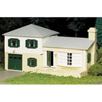 Bachmann 45607 O Plasticville U.S.A. Classic Kits Two-Story Split-Level House 160-45607