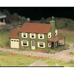 Bachmann 45622 O Plasticville U.S.A. Classic Kits Two-Story House Kit