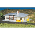 "Bachmann 45904 N Shell Gas Station 3-1/2 x 5-1/2"" 8.9 x 14cm 160-45904"