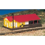 BAC45907 Bachmann Industries N Freight station BU 160-45907