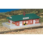 BAC45908 Bachmann Industries N Passenger station BU 160-45908