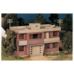 Bachmann 45980 O Plasticville U.S.A. Classic Kits Apartment Building Kit