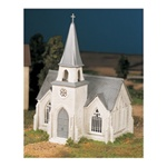 Bachmann 45981 O Plasticville U.S.A. Classic Kits Cathedral Kit