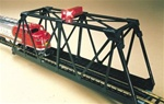 BAC46904 Bachmann Industries N Bridge w/Blnkng Lght BU 160-46904