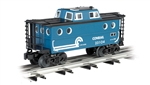 Bachmann 47708 O N5C Porthole Caboose 3-Rail Ready to Run Williams Conrail blue 160-47708