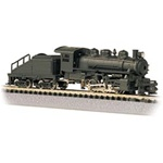Bachmann 50598 N USRA 0-6-0 Switcher w/Slope-Back Tender Standard DC Painted Unlettered