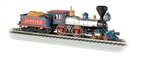 "Bachmann 51003 HO 4-4-0 w/Wood Tender Load Standard DC Central Pacific ""Jupiter"" 160-51003"