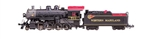 Bachmann 51355 N Baldwin 2-8-0 Consolidation Sound and DCC Western Maryland #751 Graphite Fireball Logo 160-51355