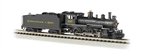 BAC51460 Bachmann Industries N 4-6-0 DCC on Brd C&O #387 160-51460