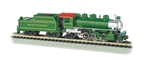 BAC51572 Bachmann Industries N 2-6-2 w/Tender SOU green 160-51572
