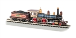 Bachmann 52707 HO 4-4-0 w/ Coal Tender Load Sound and DCC Union Pacific 119 Russian Iron brown 160-52707
