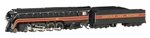 Bachmann 53253 N Class J 4-8-4 Econami Sound and DCC Norfolk & Western 611