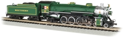 Bachmann 53451 N 4-8-2 Light Mountain Sound and DCC Southern Railway #1489