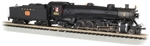 Bachmann 53453 N 4-8-2 Light Mountain Sound and DCC Nashville Chattanooga & St. Louis #551