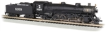 Bachmann 53454 N 4-8-2 Light Mountain Sound and DCC Missouri Pacific 5203 graphite