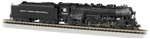 Bachmann 53654 N 4-6-4 Hudson Sound and DCC New York Central 5445