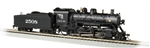 Bachmann 57905 HO 2-8-0 Consolidation Sound and DCC Sound Value Santa Fe 2508