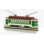 Bachmann 61093 N Brill Trolley Standard DC Green Cream Brown