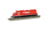 Bachmann 66353 N EMD GP40 Econami Sound and DCC Spectrum Canadian Pacific 4608 Dual Flags Logo