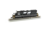 Bachmann 66355 N EMD GP40 Econami Sound and DCC Spectrum Norfolk Southern 3057 Horse Head Logo 160-66355