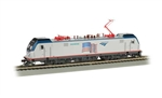 Bachmann 67404 HO Siemens ACS-64 Electric DCC and Sound Amtrak Demo Scheme Flag