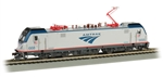 Bachmann 67407 HO Siemens ACS-64 Electric DCC and Sound Amtrak 668 Phase V Silver Travelscape Logo