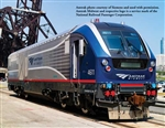Bachmann 67902 HO Siemens SC-44 Charger WowSound and DCC Amtrak Midwest 4611