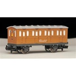 Bachmann 76045 HO Thomas & Friends Clarabel the Passenger Coach Car Gold 160-76045