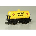 Bachmann 77039 HO Thomas & Friends Rolling Stock Sodor Fuel Tank Car