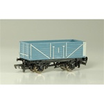 BAC77042 Bachmann Industries HO Open Wagon Blu 160-77042