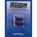 Bachmann 78028 HO E-Z Mate Mark II Couplers w/Metal Coil Spring Under Shank Medium 1 Pair