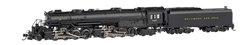Bachmann 80854 N Class EM-1 2-8-8-4 Late Small Dome Econami Sound and DCC Spectrum Baltimore & Ohio 7628