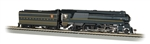 Bachmann 85301 HO Streamlined Class K4 4-6-2 Pacific Sound and DCC Pennsylvania 1120 stripes Futura Lettering 160-85301