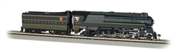 Bachmann 85301 HO Streamlined Class K4 4-6-0 Pacific Sound and DCC Pennsylvania 1120 Stripes Futura Lettering