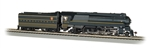 Bachmann 85303 HO Streamlined Class K4 4-6-2 Pacific Sound and DCC Pennsylvania 3678 stripes Futura Lettering 160-85303