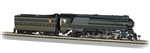 Bachmann 85304 HO Streamlined Class K4 4-6-2 Pacific Sound and DCC Pennsylvania 5338 stripes Futura Lettering 160-85304