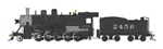 Bachmann 85401 HO Baldwin 2-10-0 Russian Decapod WowSound and DCC Spectrum Santa Fe 2456 graphite