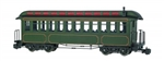 BAC89399 Bachmann Industries G JS Coach Olive w/Gld Line 160-89399