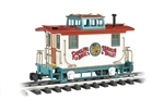 Bachmann 92717 G 4-Wheel Wood Bobber Caboose Ringling Bros. and Barnum & Bailey Circus #4