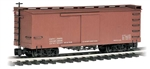 Bachmann 93302 G Wood Boxcar Data Only Mineral