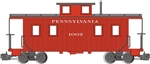 Bachmann 93802 G Eight-Wheel Wood Center-Cupola Caboose Pennsylvania Railroad 1002