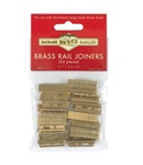 BAC94657 Bachmann Industries G Brass Rail Joiners 24/ 160-94657