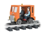 BAC96253 Bachmann Industries G Speeder MOW orange 160-96253