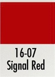 BAD1607 Badger Air Brush Co Modelflex Signal Red  1oz 165-1607