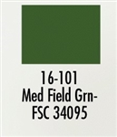 Badger 16101 Modelflex Paint Military Colors 1oz Medium Field Green