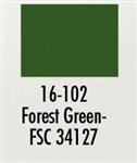Badger 16102 Modelflex Paint Military Colors 1 Ounce Forest Green 165-16102